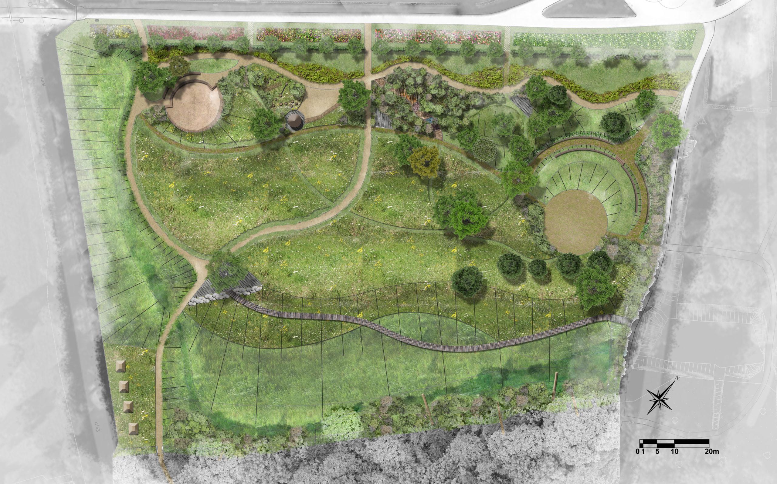 plan masse-jardin-botanique-université-poitiers-idspace