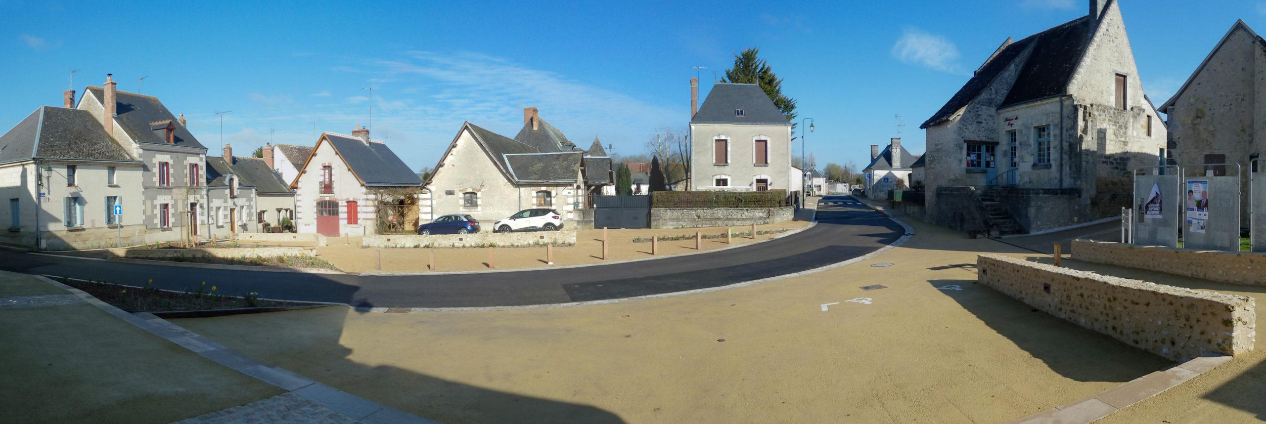 amenagement-place mairie-Louroux
