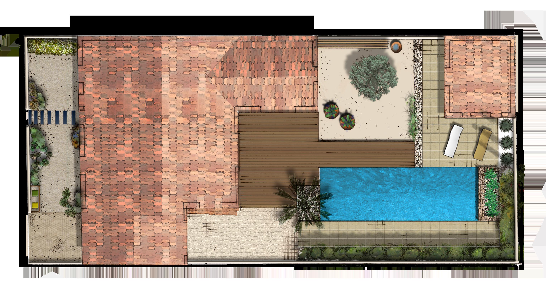 plan masse-jardin retais-andaloux-idspace