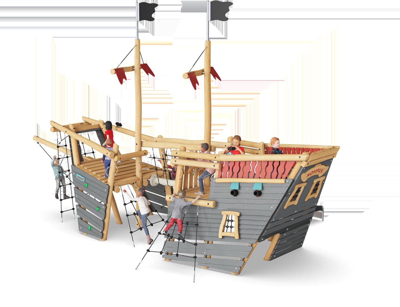 Bateau pirate-NRO540-Kompan