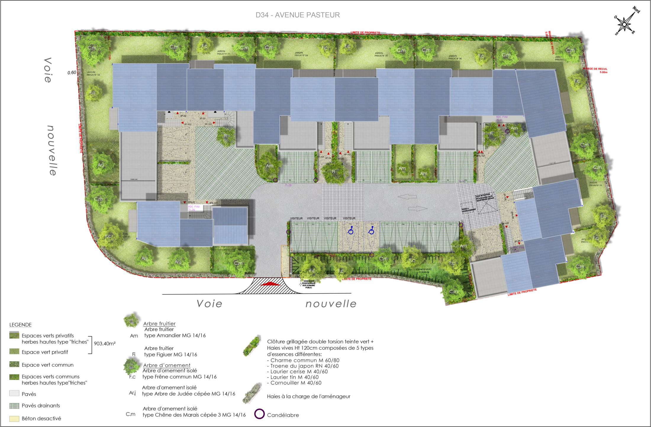 CEPROM_ZAC-Bois des Granges-LotC65D47_plan masse-idspace