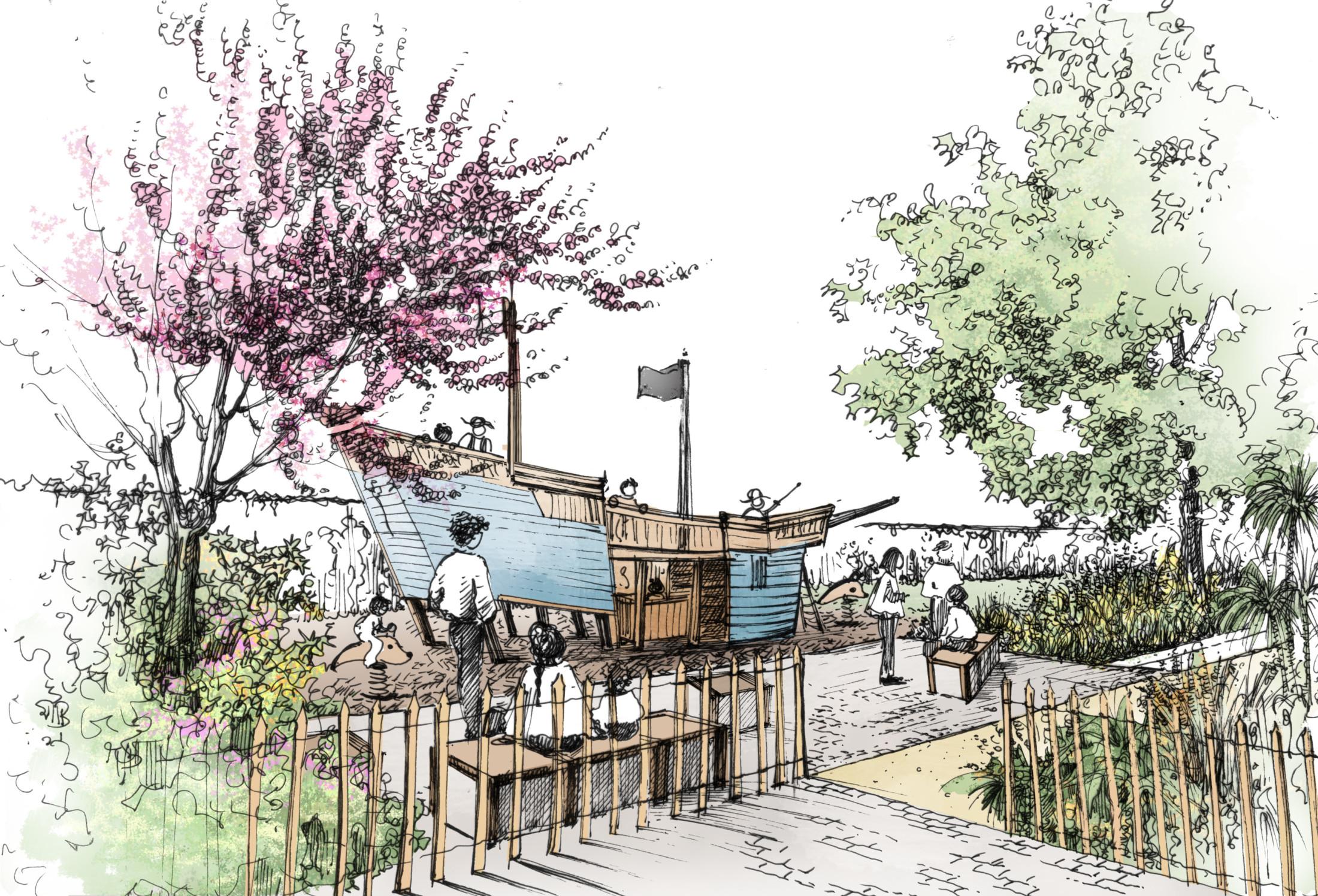 jardin-square-public-jeux-bois-marin-Kompan