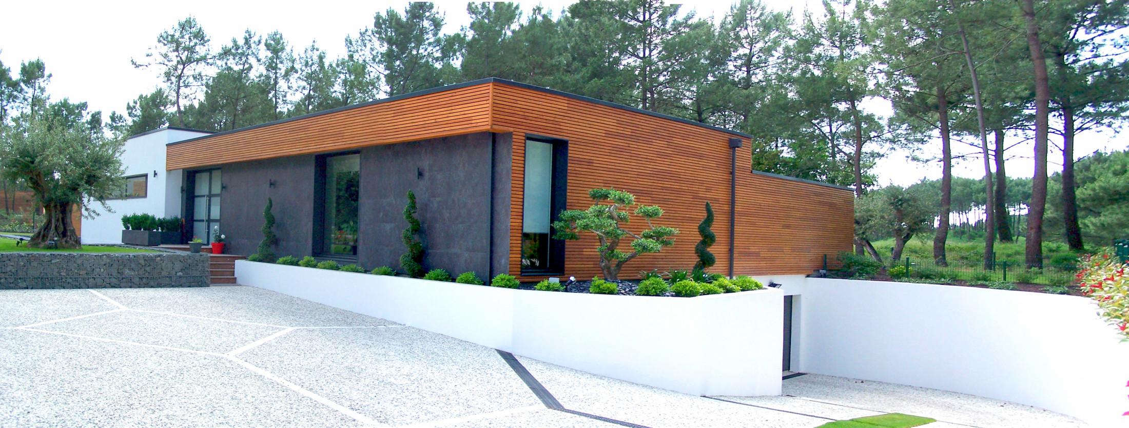 Villa-contemporain-entrée-paysager